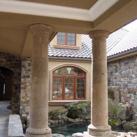 Cast Stone Columns by Stone Center, Inc Portland OR