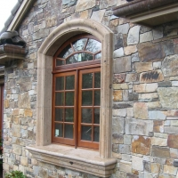 Cast Stone Window Surround and Sill by Stone Center, Inc Portland OR