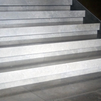Limestone Stair Treads by Stone Center, Inc Portland OR