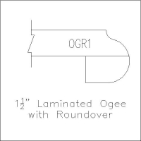 Laminated Ogee with Roundover