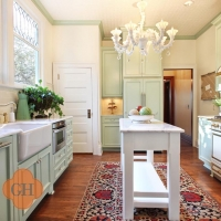 Carrara Marble Kitchen in Portland by Stone Center, Inc
