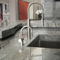 Granite Breakfast Bar Sink by Stone Center, Inc