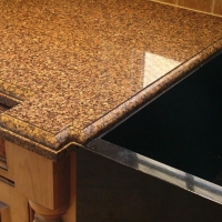 Granite Counter Sink Detail by Stone Center, Inc