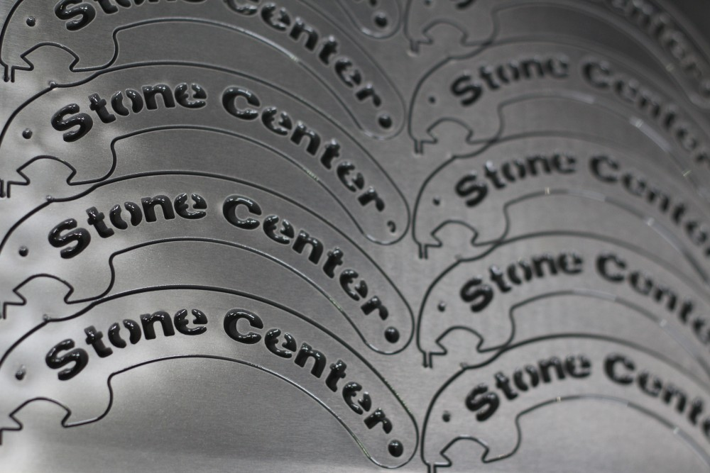 Stainless Steel Nesting Waterjet by Stone Center, Inc
