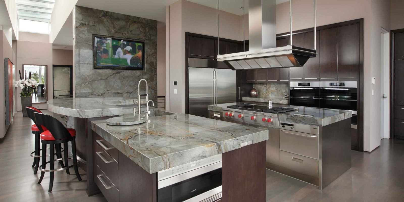 Kitchen And Granite Marble And Granite Counter Tops Fireplaces Kitchens