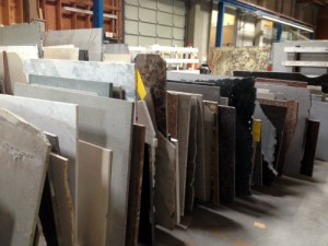 Marble and Granite Remnant Section at Stone Center  Inc