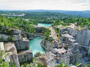 Rock of Ages Quarry by Libby on Flickr