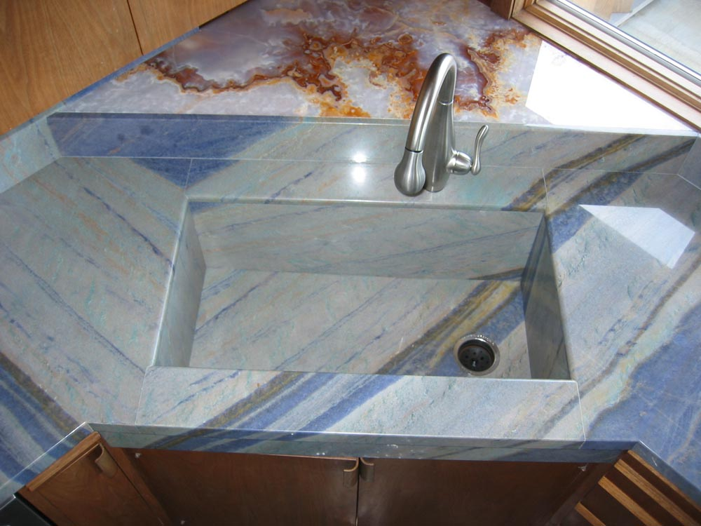 Like The Look Of An Intergrated Sink Stone Center Inc